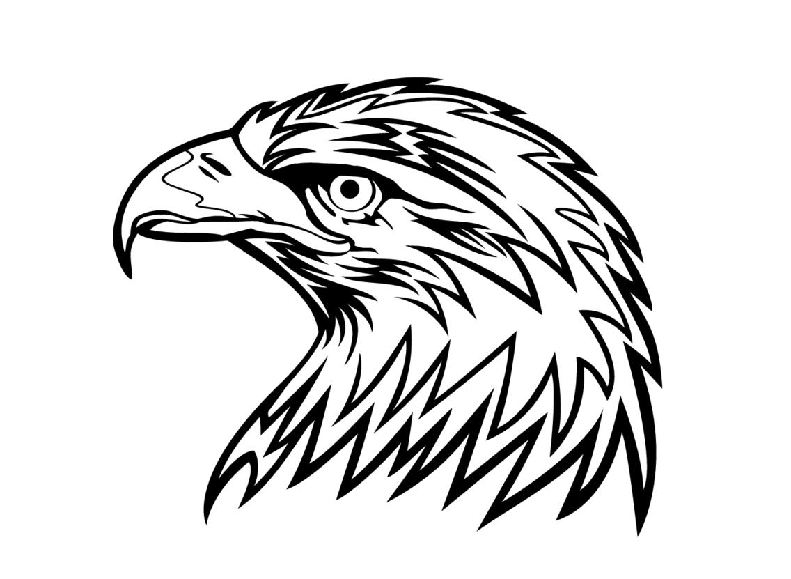 Eagle Head Vector Image 2