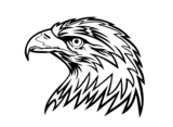 Eagle Head Vector Image 2