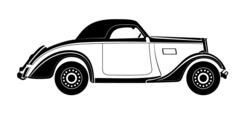 Old-timer Vector Image