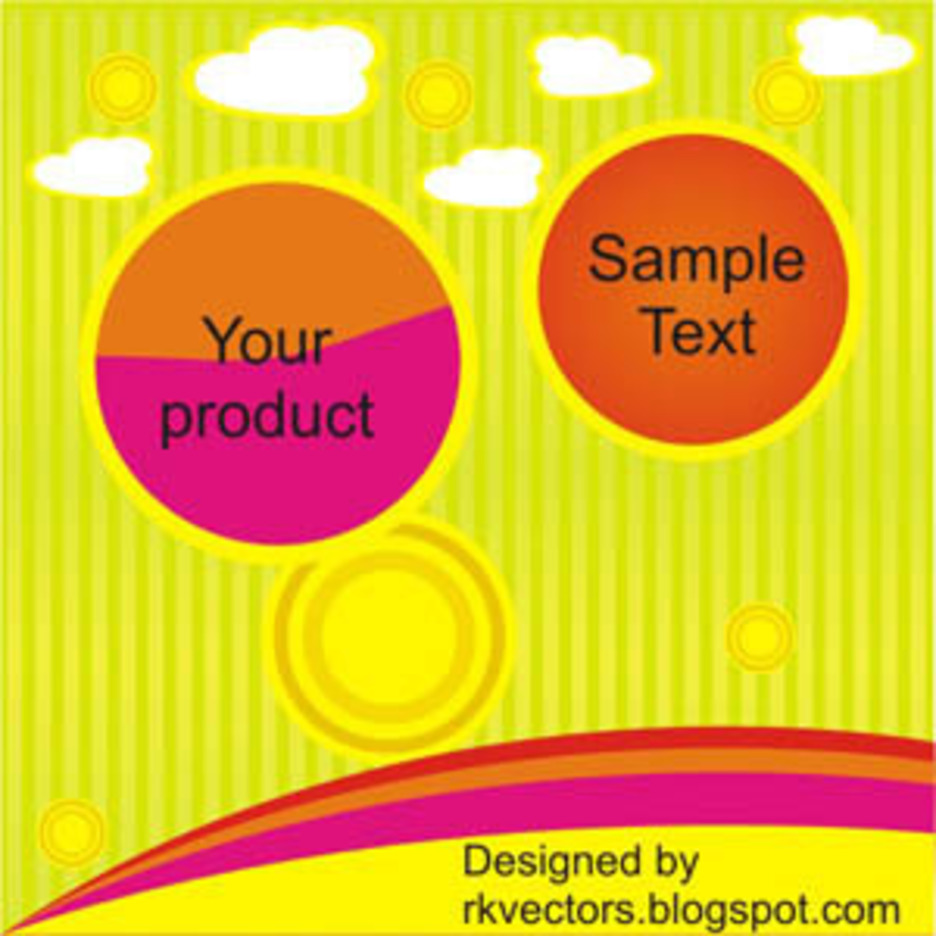 Vector Advertisement Banner Designs