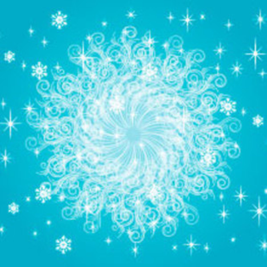 Blue Ornament Free Vector Illustration
