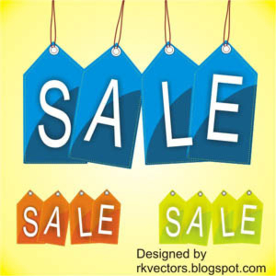 Vector Sale Price Tag Designs