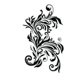 Free Vector Floral Motif