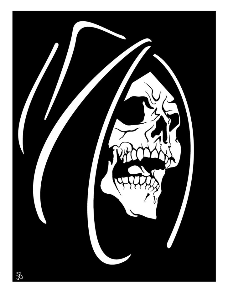 Death Face Vector
