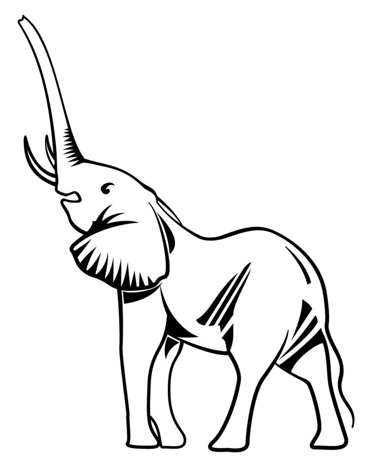 Elephant Vector Clip Art