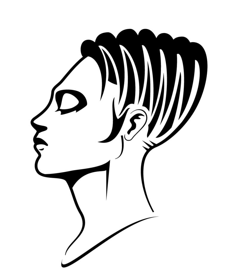 Girl Vector Profile