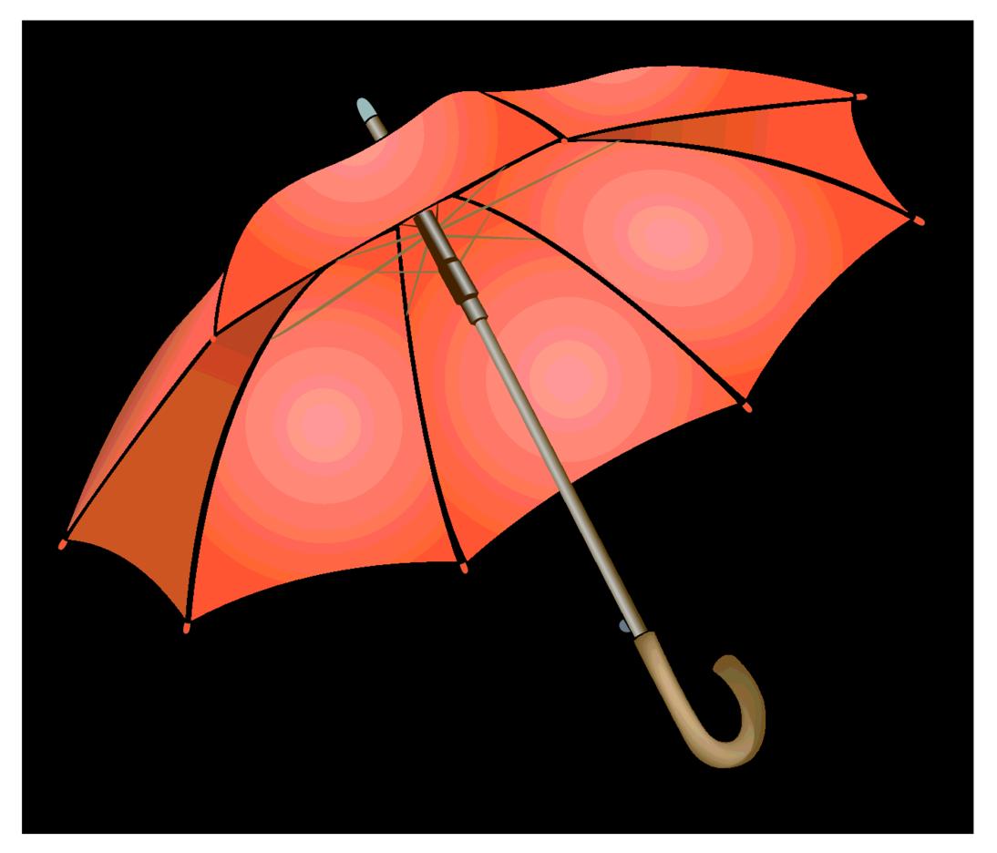 Umbrella Vector Clip Art