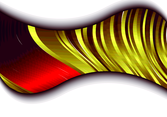 Abstract Wavy Gradient Design Element