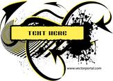 Grunge Free Vector Banner