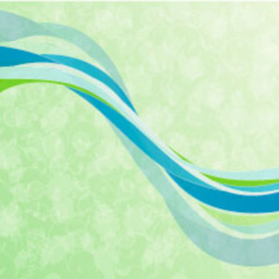 Abstract Green Background Vector Art
