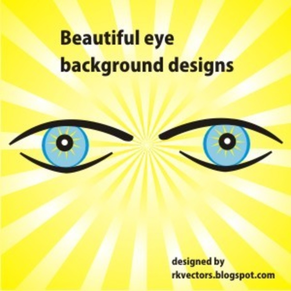 Beautiful Blue Eyes Backgrounds Freevectors
