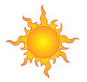 Sun Vector Clip Art 2
