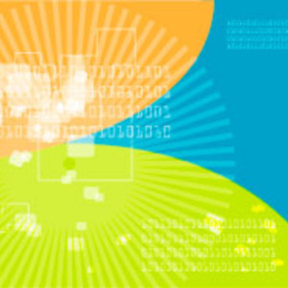 Techno Numeric Background