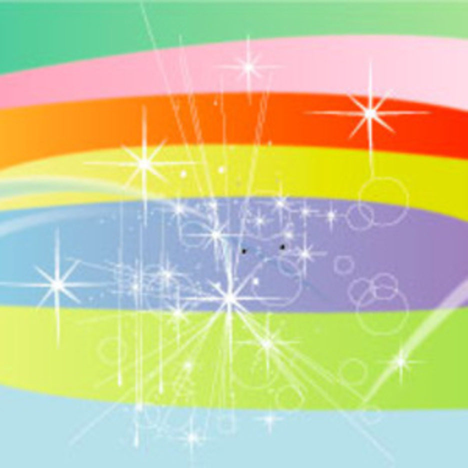 Starsy Colors Vector Background