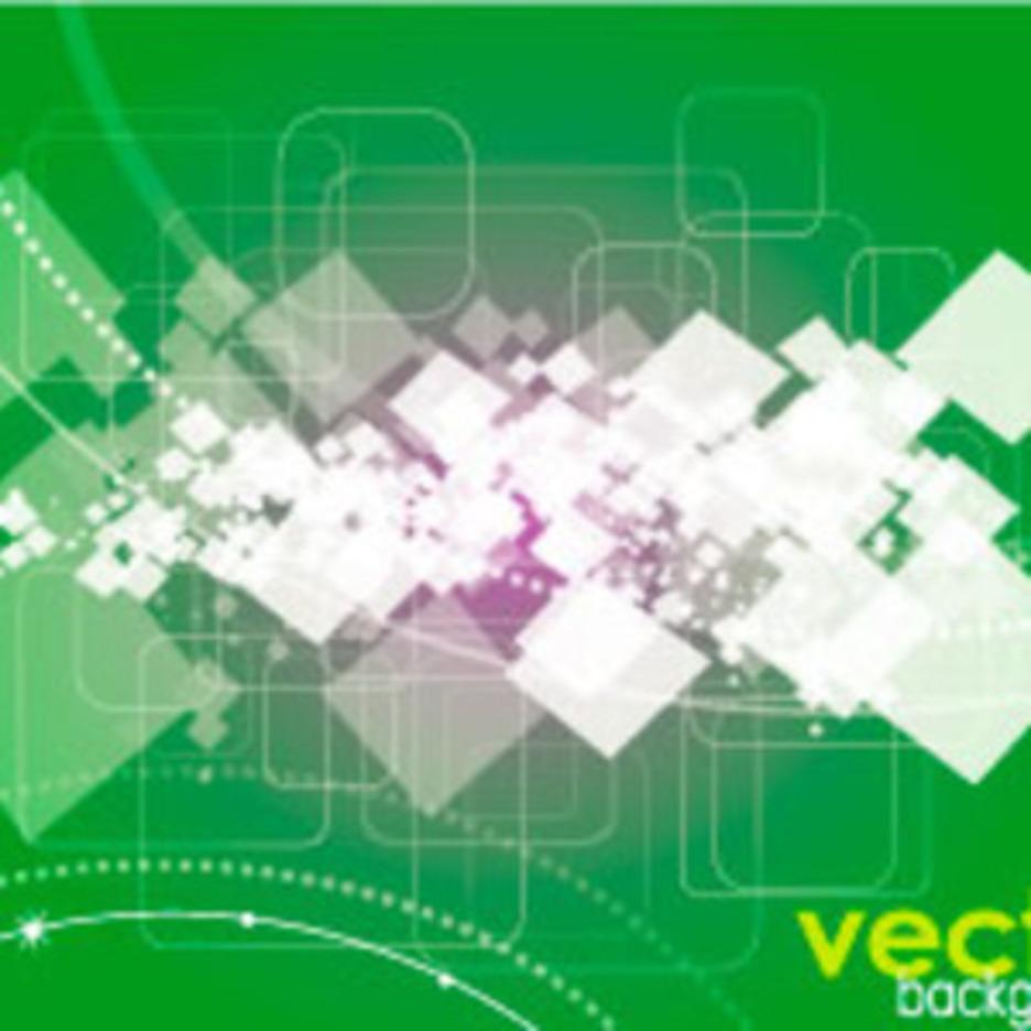 Dark Square Vector Graphic