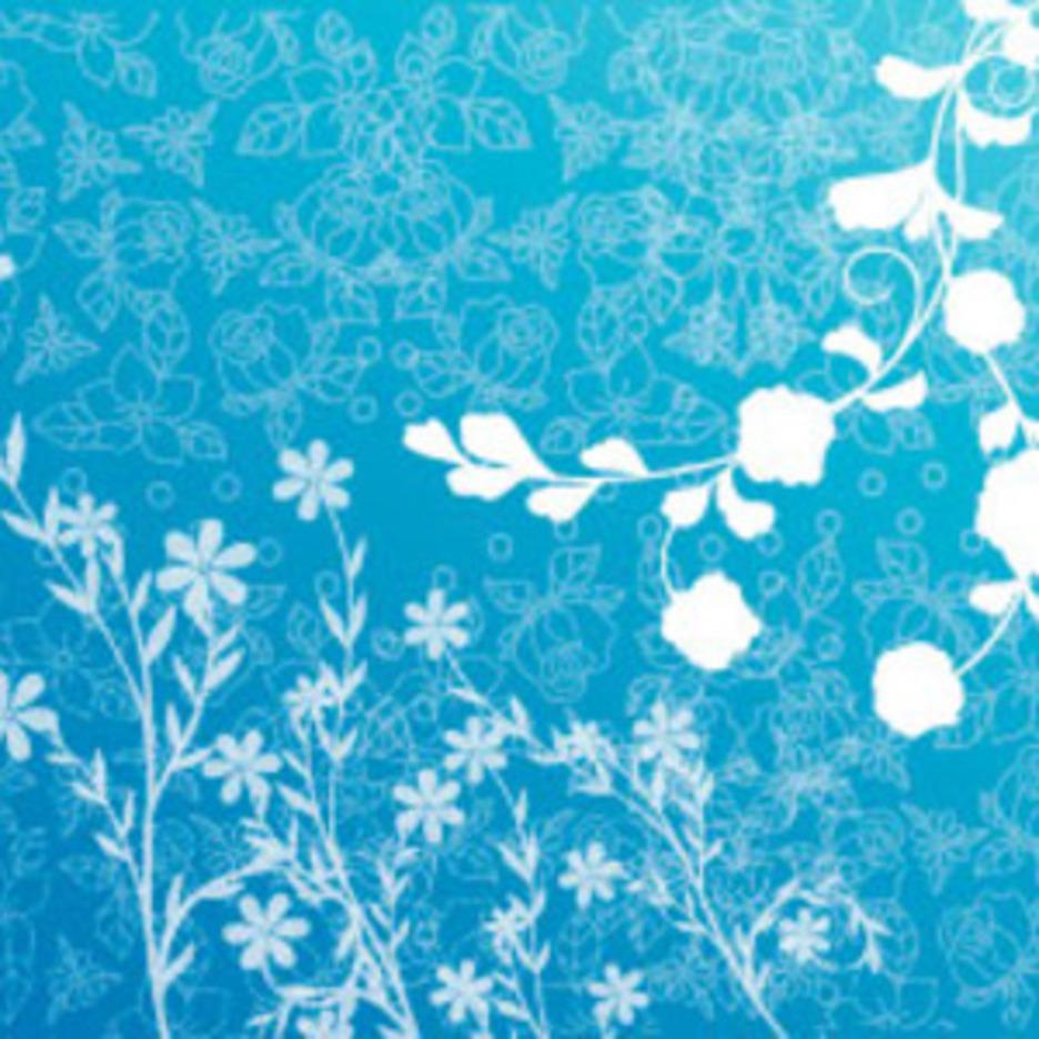 Blue Spring Vector Design