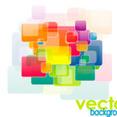 Colored Square Graphic Design