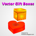 Vector Boxes For Gift