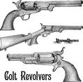 Colt Revolver Pistols