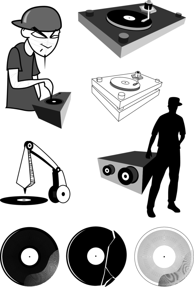 DJ Vector Graphics
