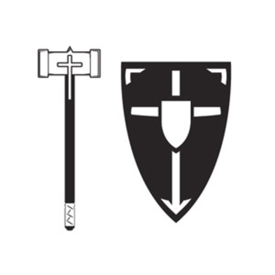 Mace And Shield Vector