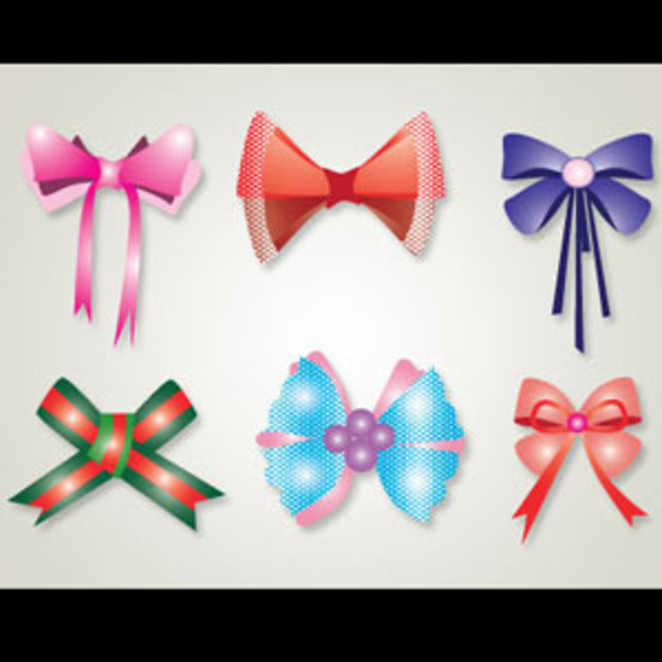 Ribbon Vector Graphics