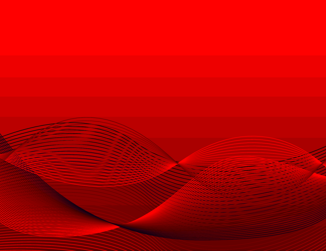 Red Wavy Vector Background