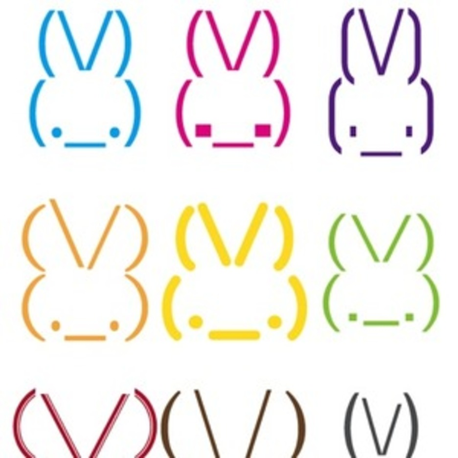 Rabbit Smileys