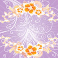 Floral Pink Vector Background