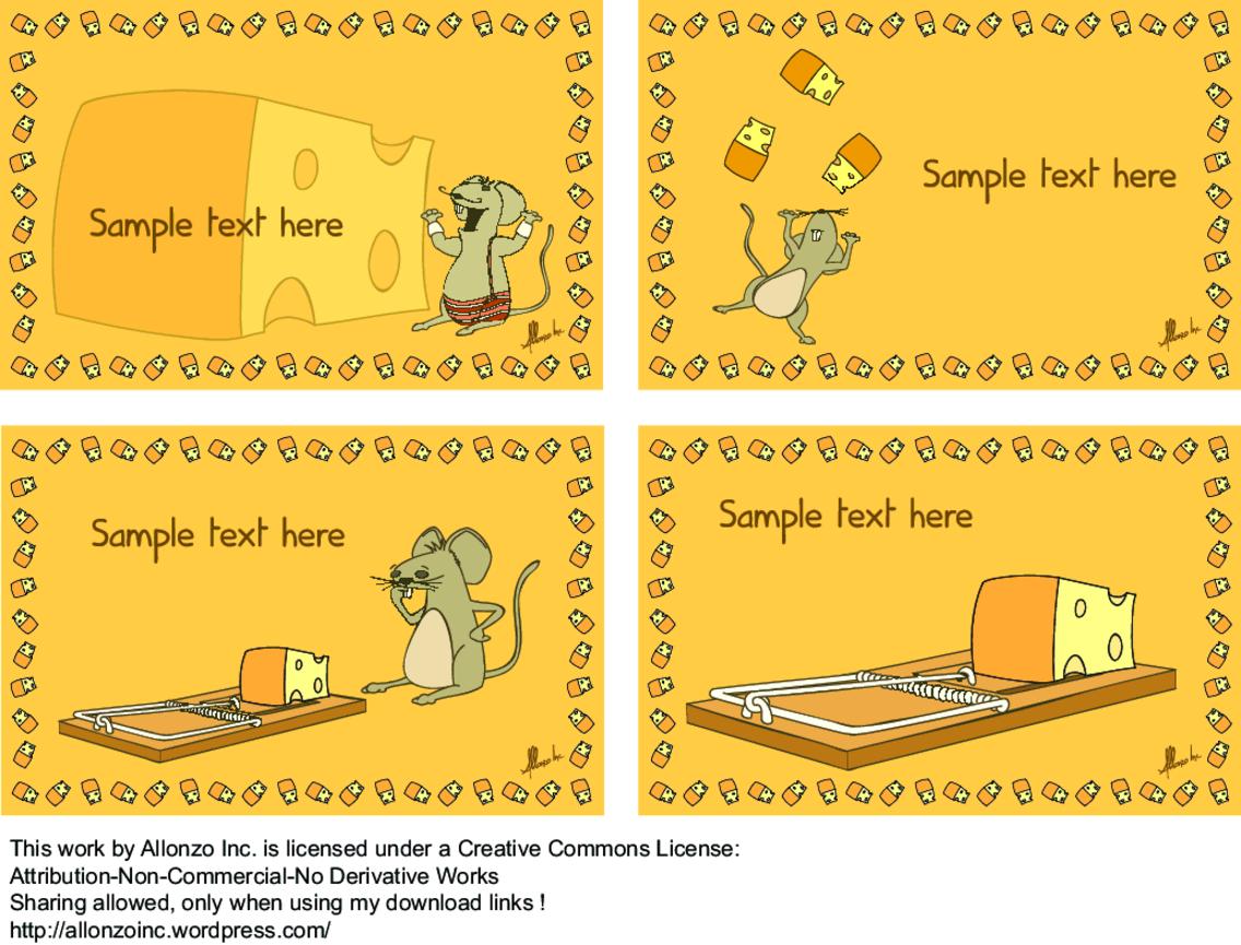 Cheesy Party Invitation Card