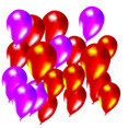 Colorful Vector Baloons