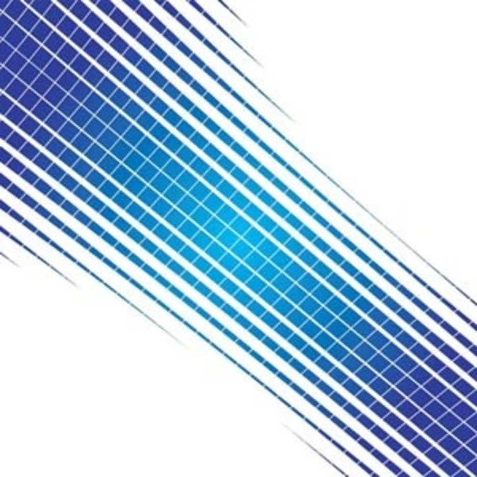 Blue Abstract Vector Design Element
