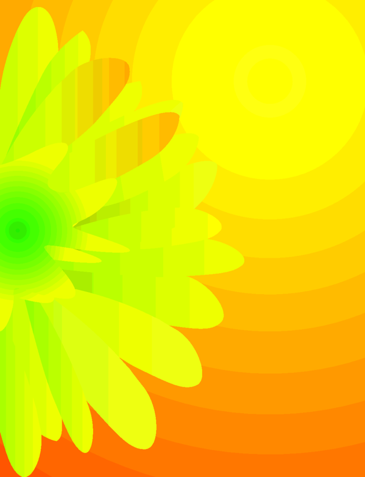 Yellow Vector Flover