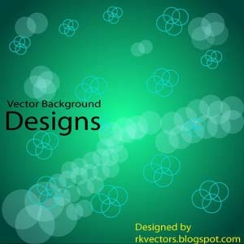 Vector Circle Background Designs