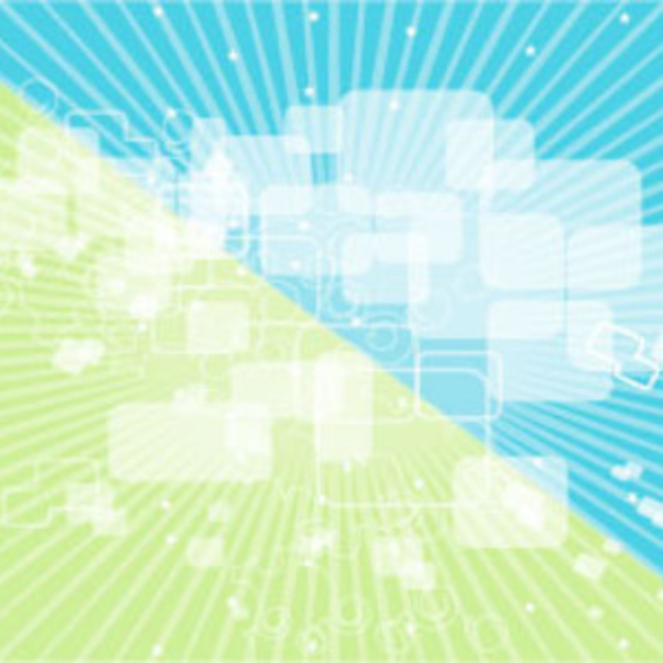 Green Blue Transparency Vector Background