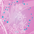 Move Abstract Floral Free Vector Background