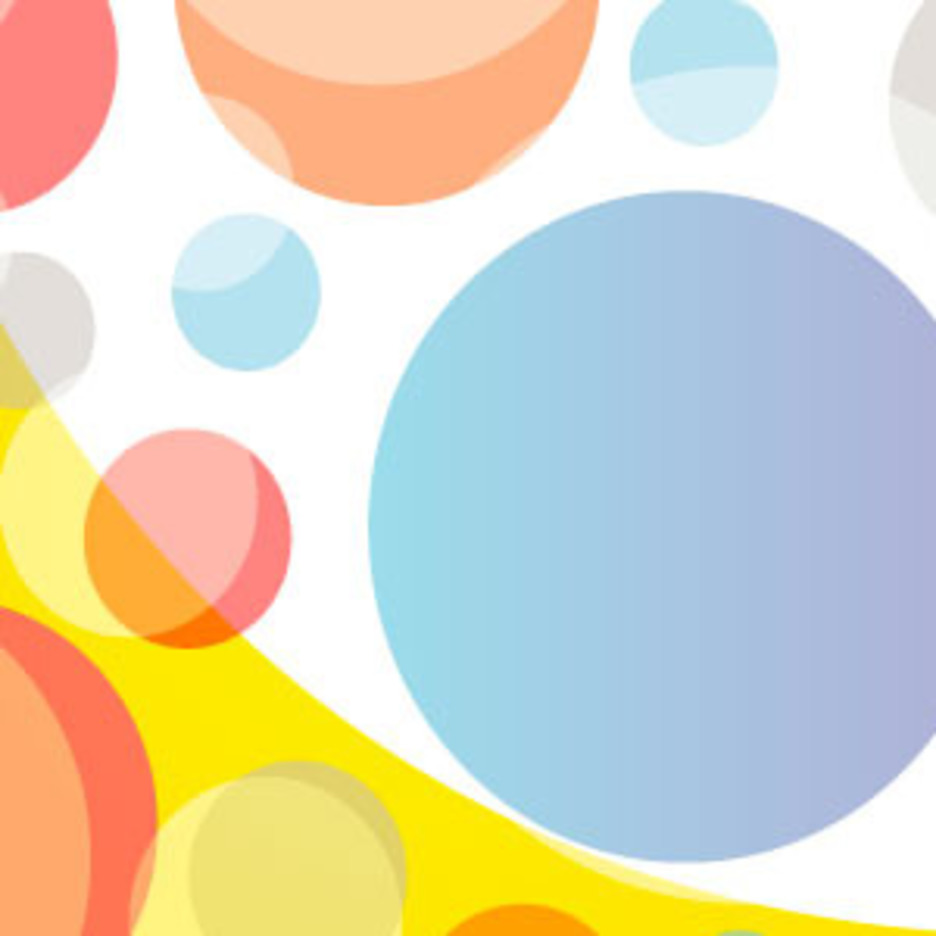 Roundy Circle Free Vector Background