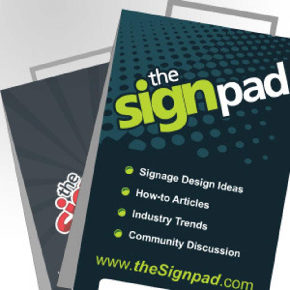 4 Free Vector Sandwich Board Designs