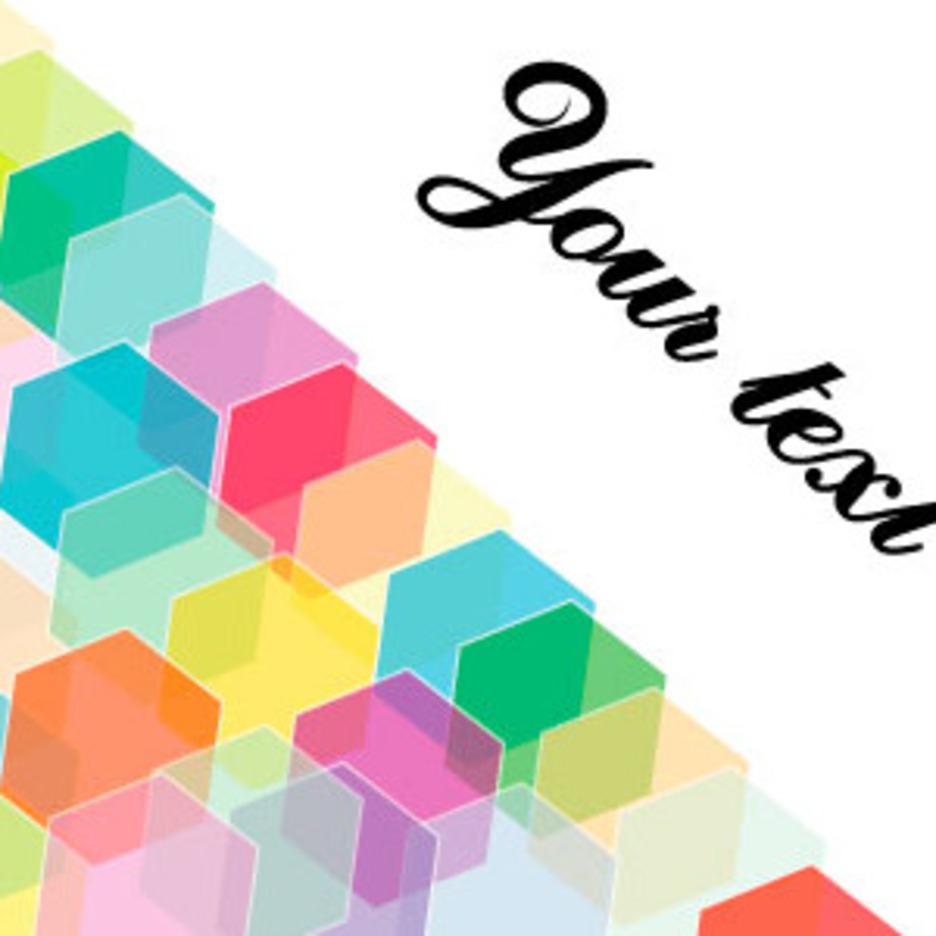 Hexagonal Design Free Vector