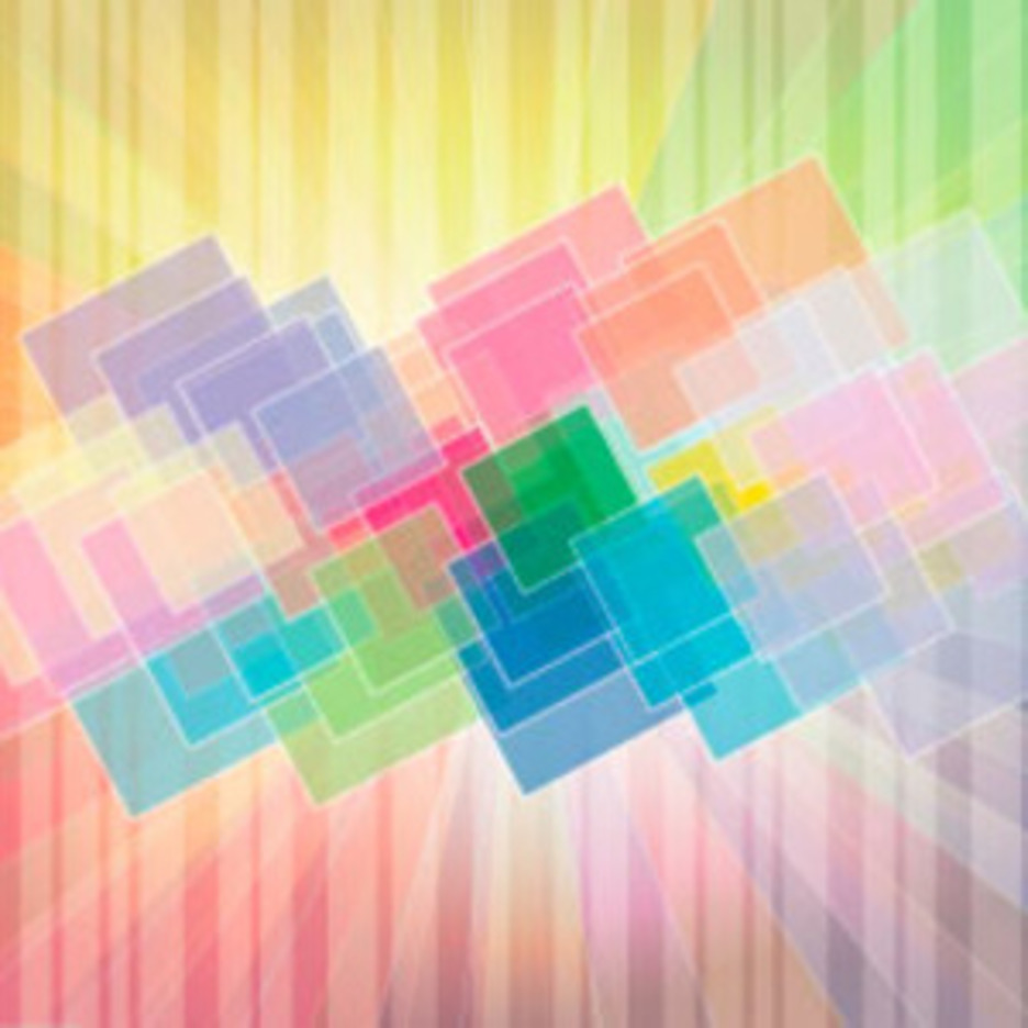Colorful Square Art Design