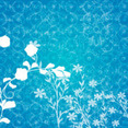 Floral Ornament Vector Background