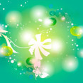 Floral Light Vector Background