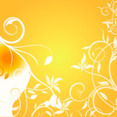 Orange Background Vector Graphic