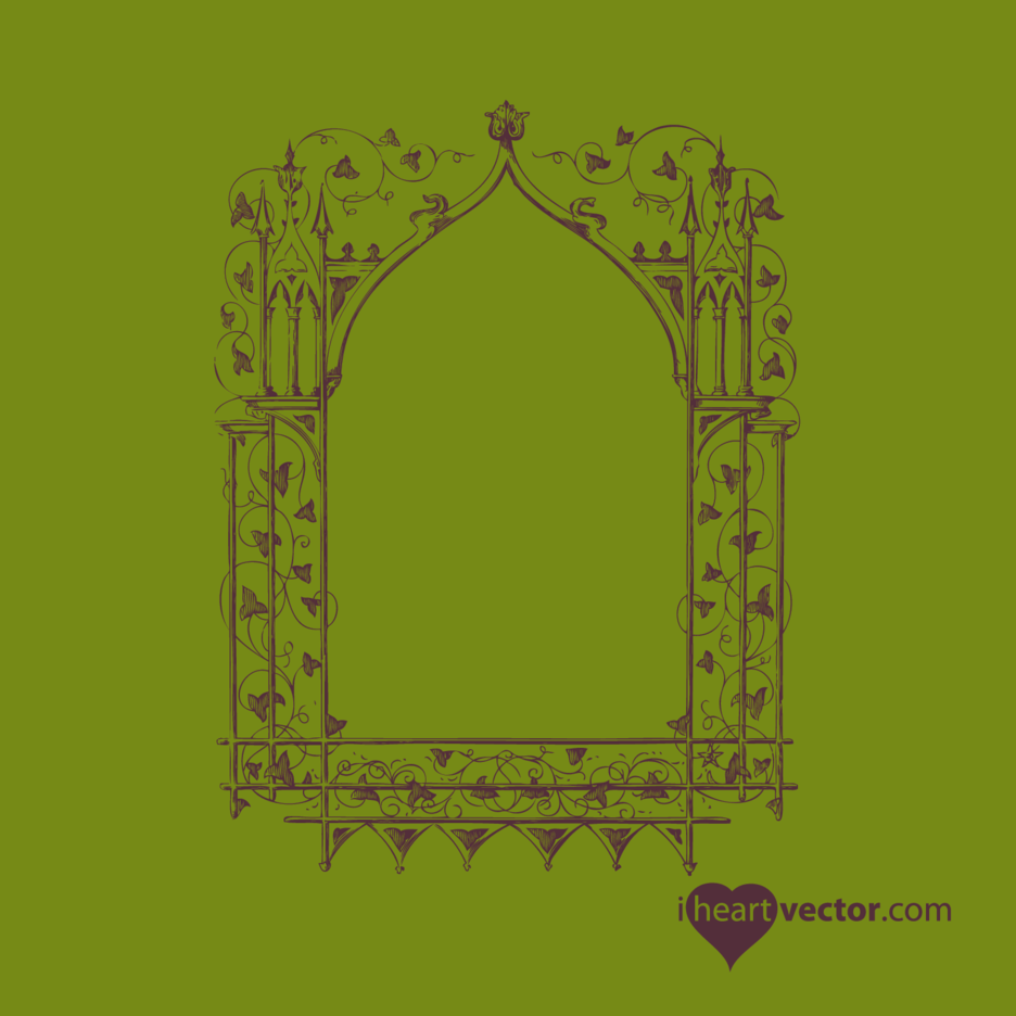 Antique Frame Vector 2