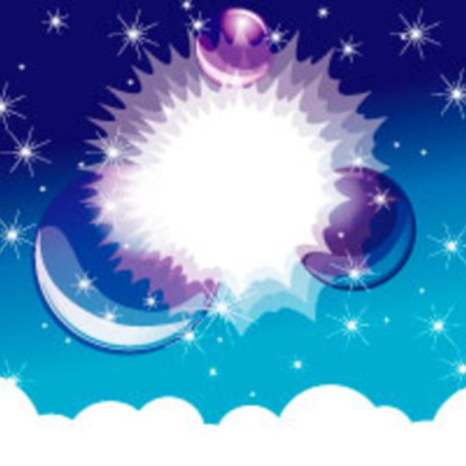 Cristal Stars Vector