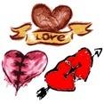 Free Heart Vector-3