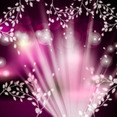 Shinning Spring Vector Background