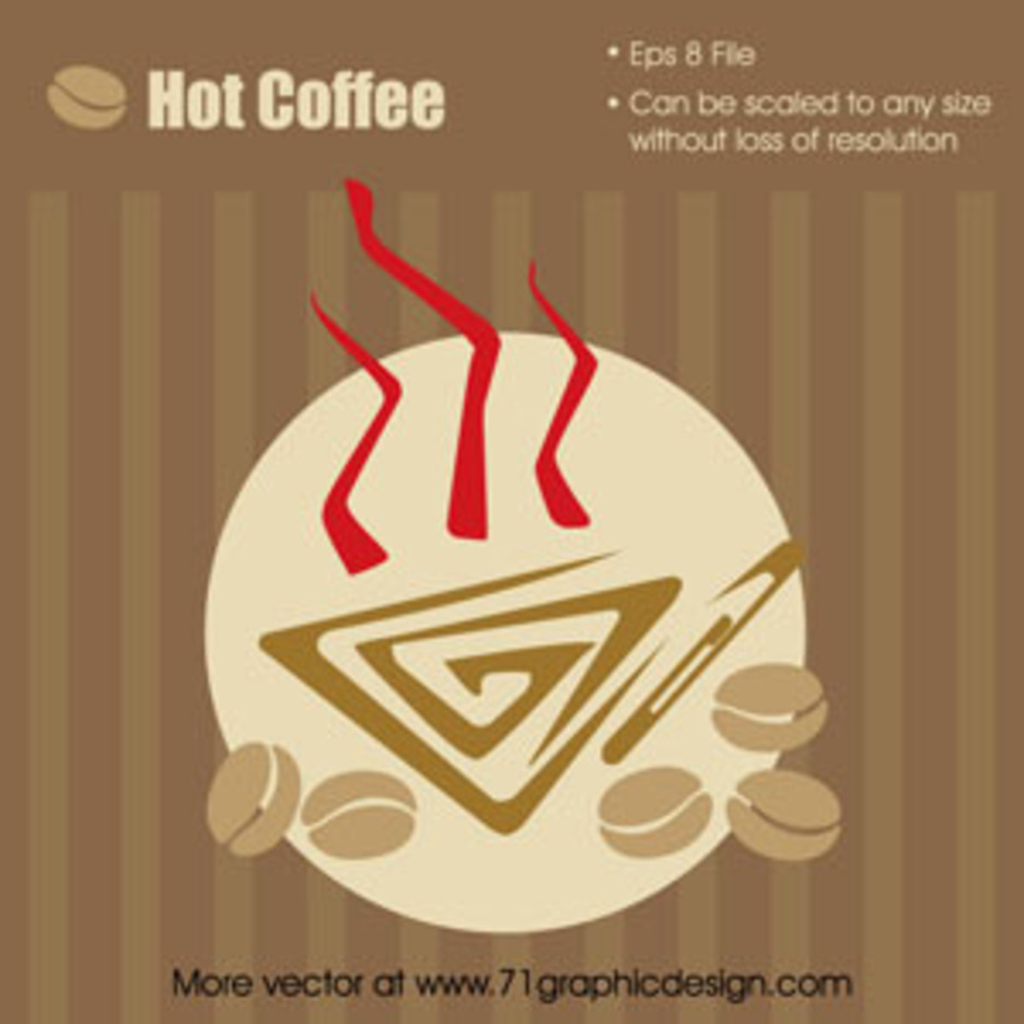 Hot Coffee Graphic
