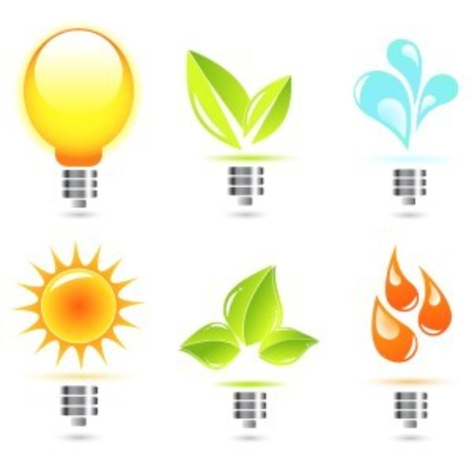 Light Bulbs With Various Elements