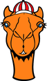 Camel With Hat Vector